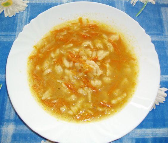 Kmíniová polévka